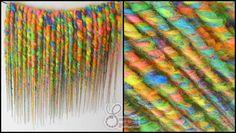 DE Rainbow Synthetic Dreads by Sammii's Synthetics ♥ #sammiissynthetics #rainbow #syntheticdreads #dreads #bright #bumpytwisted #unicornmagic #DE