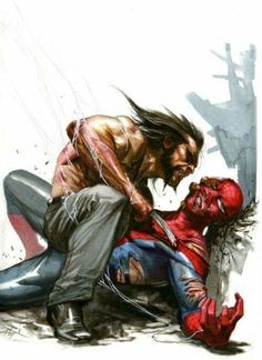 Wolverine vs Spider-Man