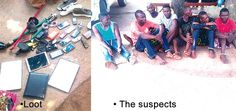 News Jagaban: Six-man gang arrested in Ikoyi while sharing loot