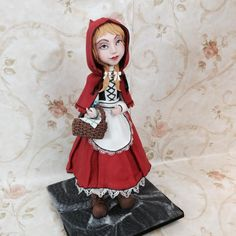 Red Riding Hood - Cake by SugarcraftIndia