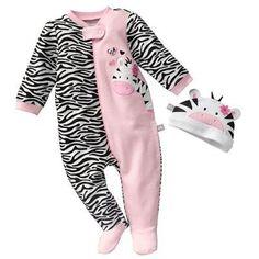 Just Born Zebra Sleep and Play - Baby