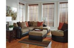 Ashley Armant Sofa set brown