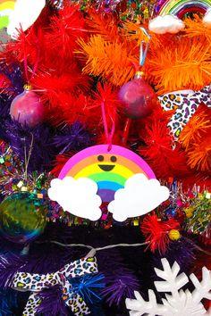 DIY Cute Rainbow Orn