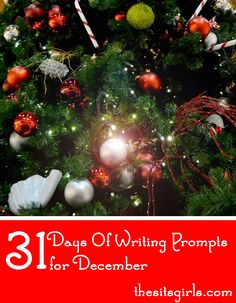Struggling to come up with blog content? Check out our 31 days of writing prompts for December. It's the perfect list to get you inspired to write.