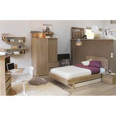 Bedroom Lit Headboard Natura Room Masculin Crave Furniture Bedroom
