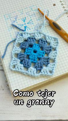 Easy Crochet Stitches, Thread Crochet, Crochet Granny, Filet Crochet, Crochet Crafts, Knit Crochet, Crochet For Beginners, Beginner Crochet Projects, Crochet Ornaments