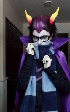 Eridan cosplay. 10/10 that is siiiiick :D