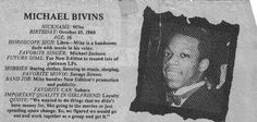 Michael Bivins--his birthday is actually August 1968 Michael Bivins, Ralph Tresvant, New Jack Swing, Black Celebrities, Celebs, Head Of State, New Edition, Horoscope Signs, Future Goals