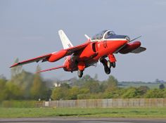 """Folland Gnat T1  RAF """"Valley"""" colour scheme  North Weald, Essex UK Military Jets, Military Aircraft, Folland Gnat, Wings Etc, The Spitfires, Air Force Aircraft, Aviation Image, Red Arrow, Royal Air Force"""