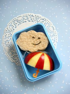 Cute packed lunch idea for kids!