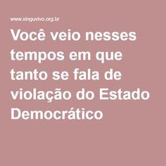"""Dilma Hoje você veio até o nosso rio Xingu inaugurar Belo Monte, nosso maior pesadelo. Você veio nesses tempos em que tanto se fala de violação do Estado Democrático, dizer que tem imenso orgulho das escolhas que fez, entre elas a construção desta usina. Você nunca nos ouviu e nunca nos compreendeu, e nós, que sabíamos de motivos outros para esta sua escolha, muito diversos do """"Bem do País"""", hoje não te compreendemos. Você veio ao nosso território inaugurar uma obra corrupta em sua raiz."""