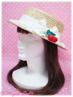 Strawberry ParlourストローHat