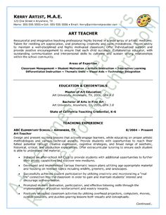 Spanish Teacher Resume Sample | Teacher And Principal Resume ...