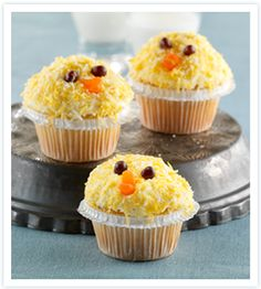 Easter Recipe: Gluten Free Easter Chicks Cupcakes