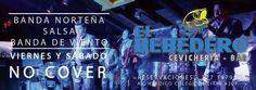 Viernes y Sábados recuerda que tenemos mucha diversión para ti con banda norteña, grupo de salsa y banda de viento, te esperamos en el Bebedero de la Paloma de La Paz!!!!!No Cover
