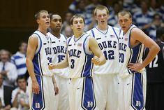 Jon Scheyer, Gerald Henderson, Greg Paulus, Kyle Singler and Taylor King Duke Basketball, College Basketball, Duke Blue Devils, King, College Basket