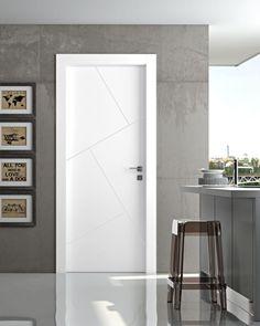 2 Modern interior door companies that fit any style home Grey Interior Doors, Interior Door Styles, Modern Exterior Doors, Door Design Interior, Modern Door, Interior Stairs, Home Interior, Modern Interior Design, Minimalist Interior