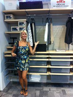 Captivating The Container Store Elfa Closet