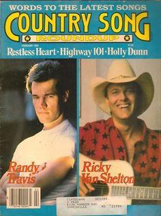 Country Song Roundup Magazine Feb 1989 Randy Travis  - Found on Lookza.com  www.advintageplus.com