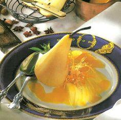 Fűszeres körte narancsvajjal