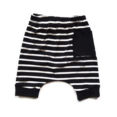 Bamboo Crop Harems by Lil Babes Apparel, unisex, gender neutral, hipster, modern, baby, toddler, kids, fashion, clothes, leggings, shorts