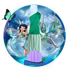 """""""Silvermist"""" by disneydressing ❤ liked on Polyvore featuring moda, Disney, A. Link, Lanvin, Dorothy Perkins y Arunashi"""