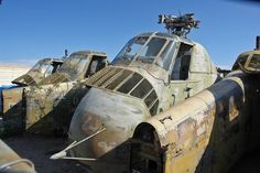 Abandoned military aircraft at an air force base in Arizona. More --> http://www.abandonedplaygrounds.com/abandoned-aircraft-graveyard-of-davis-monthan-air-force-base/