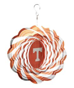 Take a look at this Tennessee Geo Spinner by Time to Tailgate: College Colors on #zulily today!