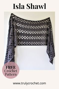 Poncho Au Crochet, Crochet Shawl Diagram, Crochet Wrap Pattern, Crochet Shawls And Wraps, Crochet Scarves, Crochet Clothes, Crochet Patterns, Easy Crochet Stitches, Crochet Simple