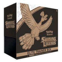 Free Shipping. Buy Pokemon Sun & Moon Shining Legends Elite Trainer Box- FREE Pokemon Movie Pack w/Purchase at Walmart.com