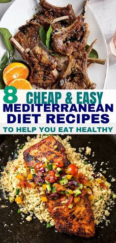 8 Cheap & Easy Mediterranean Diet Recipes To Help You Eat Healthy