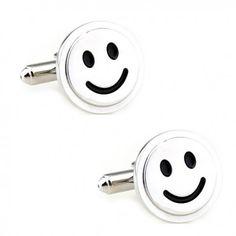 Les boutons de manchette qui vous donne envie de sourire #smiley #emoticones