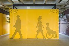 Módulo Bruxelas / Nitsche Projetos Visuais: Comunicação visual