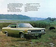 1970 American Motors Rebel SST 2 Door Hardtop   by coconv, via Flickr