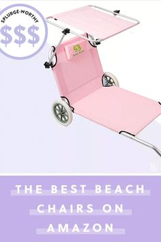 The Rio Brands Big Kahuna 174 Aluminum Frame Beach Chair