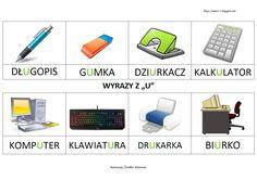 Printer Desk, Learn Polish, Polish Language, Hole Punch, Asd, Calculator, Computer Keyboard, Usb Flash Drive, Internet