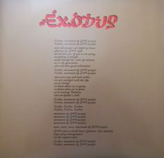 2007-06-03 Exodus 30Th Anniversary Limited Edition - Island Records / Tuff Gong Records