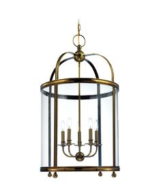 Hudson Valley 7820 Larchmont 21 Inch Foyer Lantern | $2150