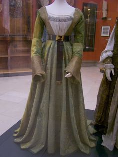 Mary of Hapsburg's gown (1475-1500). Donated in 1522 by Mary's Granddaughter.