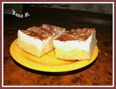 Czech Recipes, Ethnic Recipes, Pavlova, Tiramisu, Great Recipes, Breakfast Recipes, Cheesecake, Food And Drink, Sweets