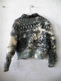 Celia Pym (re-knit) this sweater would make me so happy..
