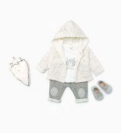 Image 1 of from Zara Baby Outfits, Outfits Niños, Toddler Outfits, Baby Girl Fashion, Kids Fashion, Style Baby, Baby Kids Clothes, Stylish Kids, Unisex Baby