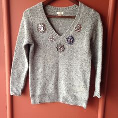 J. Crew sweater Some fuzzy ball here and there not too noticeable. Tagged XXS fits more like XS ❌NO TRADES J. Crew Sweaters