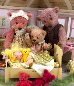 Guldlok og de tre bjørne hos Teddy Bear Art Museum, Billund Bear Art, Teddy Bears, Art Museum, Lego, Toys, Animals, Activity Toys, Animales, Animaux