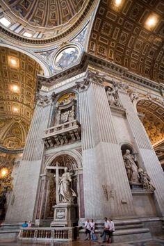 Interior de la Basílica de San pedro- Vaticano