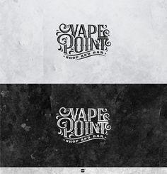 Logo design by coin! bor Vape Point. POTD 2.27.2015