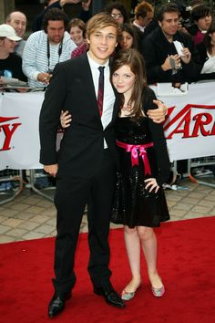 William Moseley and Georgie Henley..