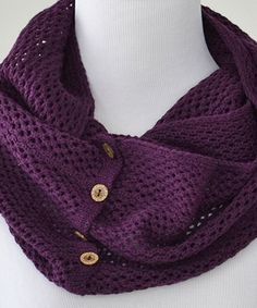 Another great find on #zulily! Plum Charlee Infinity Scarf #zulilyfinds
