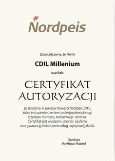 nordpeis certyfikat autoryzacji by e-millennium.eu, via Flickr