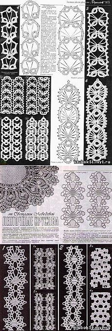 This Pin was discovered by JoA Crochet Leaf Patterns, Crochet Symbols, Crochet Diagram, Crochet Stitches Patterns, Crochet Motif, Crochet Flowers, Crochet Lace, Freeform Crochet, Filet Crochet
